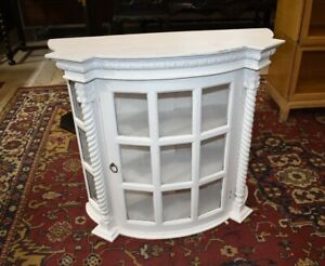 Antique Wall Hanging Display Case, Cabinet