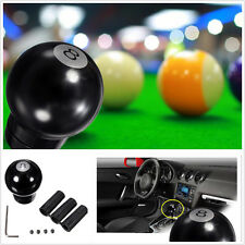 Black-8 Ball Billiard Pool Car SUV Gearstick Solid Small Shift Gear Knob Snooker