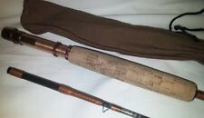 Rare Vintage Abercrombie & Fitch 8' 1970's Fly Graphite Fishing Rod Pole & Case