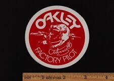 JOHNNY O'MARA OAKLEY FACTORY PILOT STICKER Vintage Motocross Honda CR250R CR125R