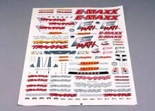 TRAXXAS 3913 Adesivi E-MAXX/TRAXXAS DECAL SHEET E-MAXX