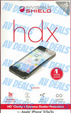 ZAGG InvisibleShield HDX Extreme for iPhone 5 5s 5c IP5HXS w/ Warranty