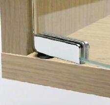 Cerniera cerniere per ante in vetro destra e sinistra cromo lucido 40x13 mm