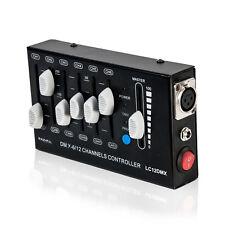 LC12DMX IBIZA 12 Kanal + Master DMX Controller Lichteffekt Lichtsteuerung  NEU