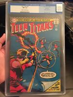🔥Teen Titans #4 CGC 9.2 OLD LABEL 1st Speedy in Title NORTHLAND PEDIGREE COPY🔥