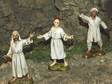 Landi Nativity Scene Shepherds Villagers Figurines Presepio Figuras para Pesebre