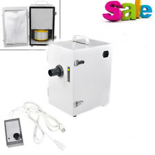 Dental Lab Equipment Digital Single-Row Dust Collector Vacuum Cleaner 370W FDA
