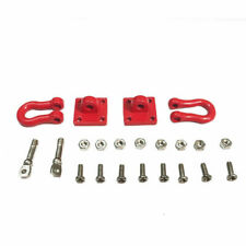 RC Rock Crawler Tow Metal Shackle Trailer Hooks For Axial SCX10 RC4WD US