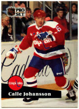Washington Capitals Not Autographed Hockey Trading Cards