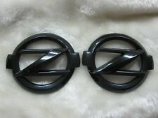 Front and Rear Black big Z emblems for all Nissan 350Z