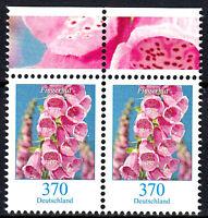 3501 postfrisch Paar waagerecht Rand oben BRD Bund Deutschland Briefmarke 2019