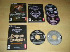 NEVERWINTER NIGHTS 1 DELUXE EDITION Pc Inc 2 Add-Ons Underdark & Undrentide NWN