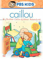 Caillou - Big Brother Caillou & Other Adventures - DVD -  Very Good - Melissa Pi