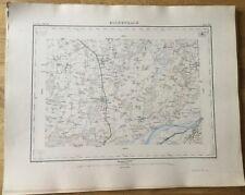 SUISSE - ATLAS S. VON OBERST - CARTE N°189 ESCHENBACH BE 1868