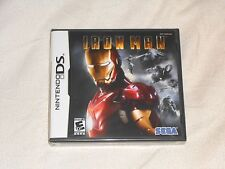 NEW Iron Man 1 Nintendo DS Game NEW FACTORY SEALED ironman im 1st one tony stark