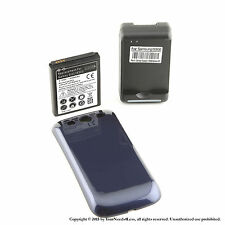 4300mAh Extended Battery for Samsung Galaxy S3 Blue Cover Dock Charger