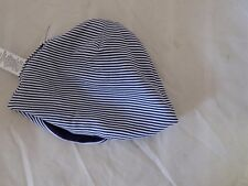 Baby cotton Hat Blue and white stripes 3 months kids (31)