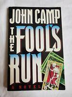 SIGNED ~ The Fool's Run by John Camp aka John Sandford (1989) Uncorrected Proof