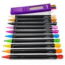 Zebra - Zensations Ergonomic Mechanical Colouring Pencil - 2.0mm - 10pk + Leads