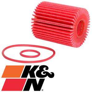 K&N HIGH FLOW CARTRIDGE OIL FILTER FOR LEXUS GS460 URS190R 1UR-FSE 4.6L V8