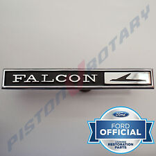 FALCON Glovebox Badge ,Chrome, New, for FORD XY XT Falcon 351 GT Glove Box