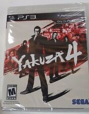 Yakuza 4 (Sony PlayStation 3, 2011 RE-PRINT) NEW FREE SHIPPING TO USA & CANADA