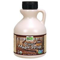 NOW Foods Maple Syrup, Organic Grade A Dark Color (formerly Grade B), 16 oz