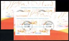 Greenland #565-566a Europa booklet panes, VFU (TP00031)