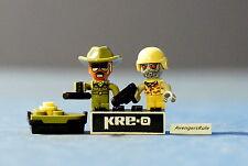 Kre-O Cityville Invasion Mini-Figure Population Sgt. Drill Zombie Soldier