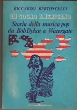 riccardo bertoncelli UN SOGNO AMERICANO arcana editrice 1975 situazioni 13