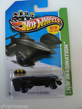 2013 Hot Wheels BATMAN LIVE BATMOBILE HW IMAGINATION-On USA CARD