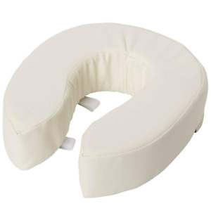 Raised Toilet Seats Vinyl Foam Toilet Seat Cushion Padded Cover 4 Inch