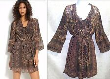 Joie Silk Sarika dress sz L NEW $338