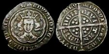 More details for a9: edward iii hammered silver groat, type f, im crown, spink 1569, circa 1356