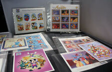 International Collectors Society Disney Postal Stamps 13 Sets with Storage Box