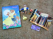 New listing Disney's Beauty and the Beast set of 5 items: book, 3 figurines & fold-out scene