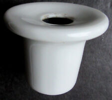 Ancien encrier porcelaine blanche pour bureau d'écolier: Limoges