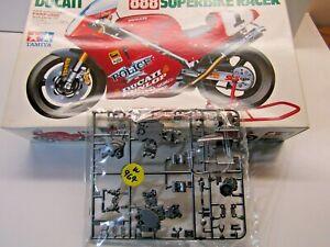 "Tamiya 1:12 Scale Ducati 888 Superbike Racer Sprue ""A"" Grey & 'F' Clear Parts"