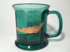 B2 Stealth Bomber Heavy Glass Green Color Coffee Mug