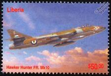 Royal Jordanian Air Force HAWKER HUNTER FR-10 Aircraft Stamp