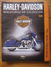 FASCICULE 36  MOTO COLECCION HARLEY DAVIDSON FLHXI STREET GLIDE 2006