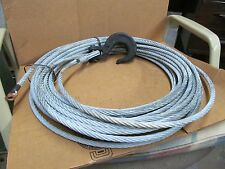3/8 Winch Cable W/Hook 100ft HUMMWV .375 Dia 4010-01-496-3987