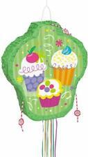 Cupcake Pull String Party Pinata