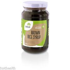 1kg Organic Brown Rice Syrup (2 x 500g jars) by Lotus Brand VEGAN GF