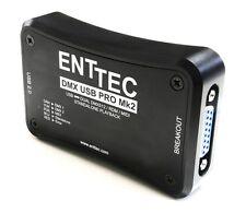 ENTTEC DMX-USB Pro MK2  USB / DMX interface, in / out, 2 universes