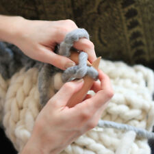 Praktisch DIY Schal Weben Werkzeug Holz Bambus Stricknadeln Kunststoff Schlauch