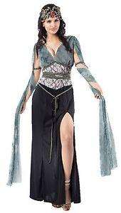 Medusa Greek Goddess Roman Cleopatra Fancy Dress Costume Complete Outfit