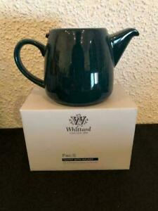 """Whittard of Chelsea """"Pao"""" 650ml Tea Pot With Stainless Steel Infuser, Dark Green"""