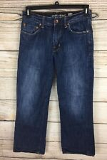 Guess Jeans Men's The Cliff Boot Fit 100% Cotton Distressed Wash Jeans 30x30