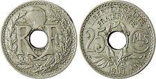 25  CENTIMES  LINDAUER ,  1917  CMES  SOULIGNÉ  ,  SUPERBE